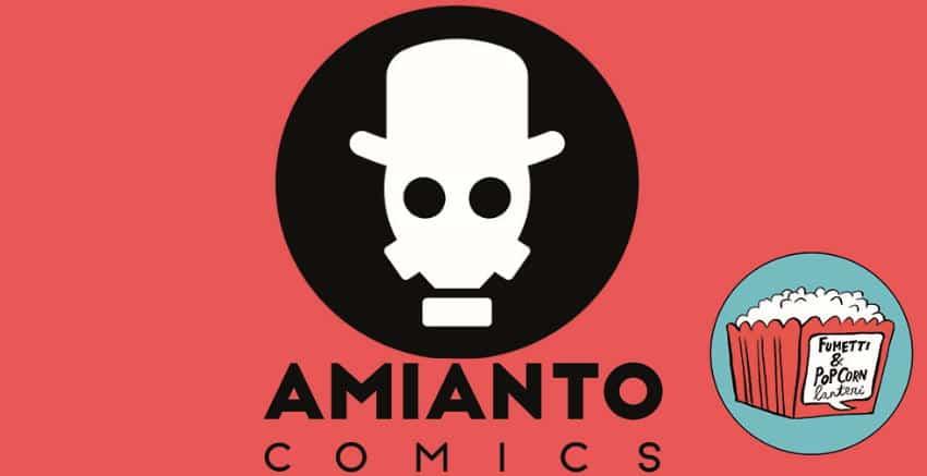 Amianto Comics a Pisa per Fumetti&Popcorn