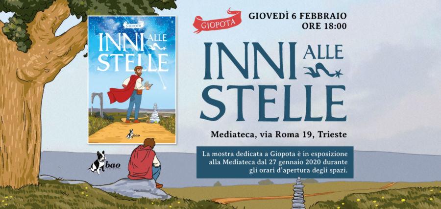 """Incontro con Gipota a Trieste per """"Inni alle stelle"""""""