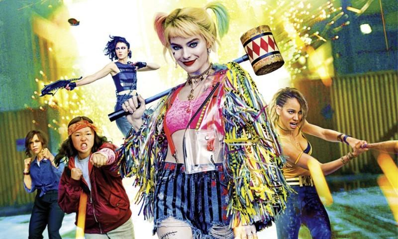 Harley Quinn sbarca al cinema con le Birds of Prey al seguito