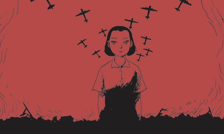 Una donna e la guerra: l'amore e le bombe