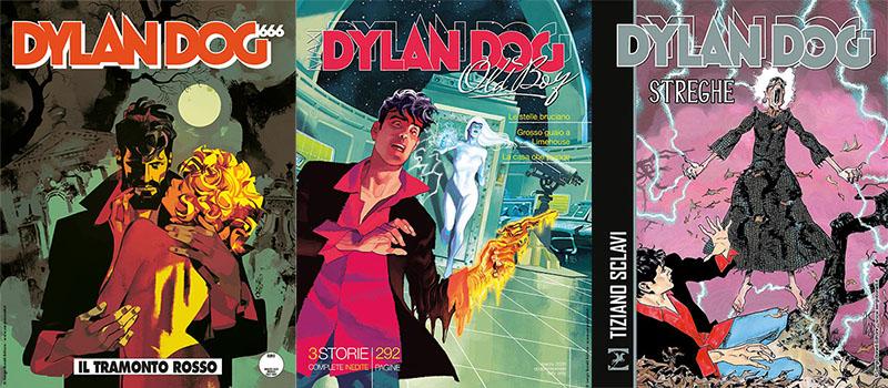 Febbraio si chiude con tre uscite per Dylan Dog