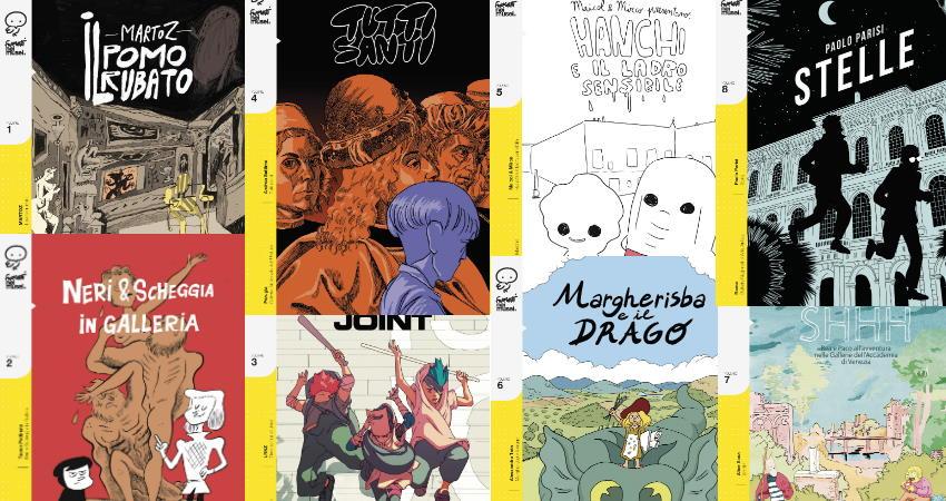 """Gli autori di """"Fumetti nei Musei"""" a Roma il 23 Febbraio"""