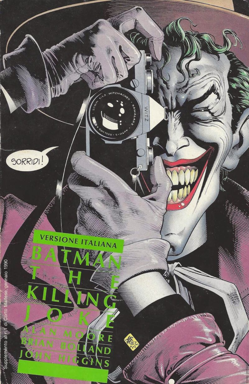 Alan Moore e Brian Bolland – Batman: The Killing Joke