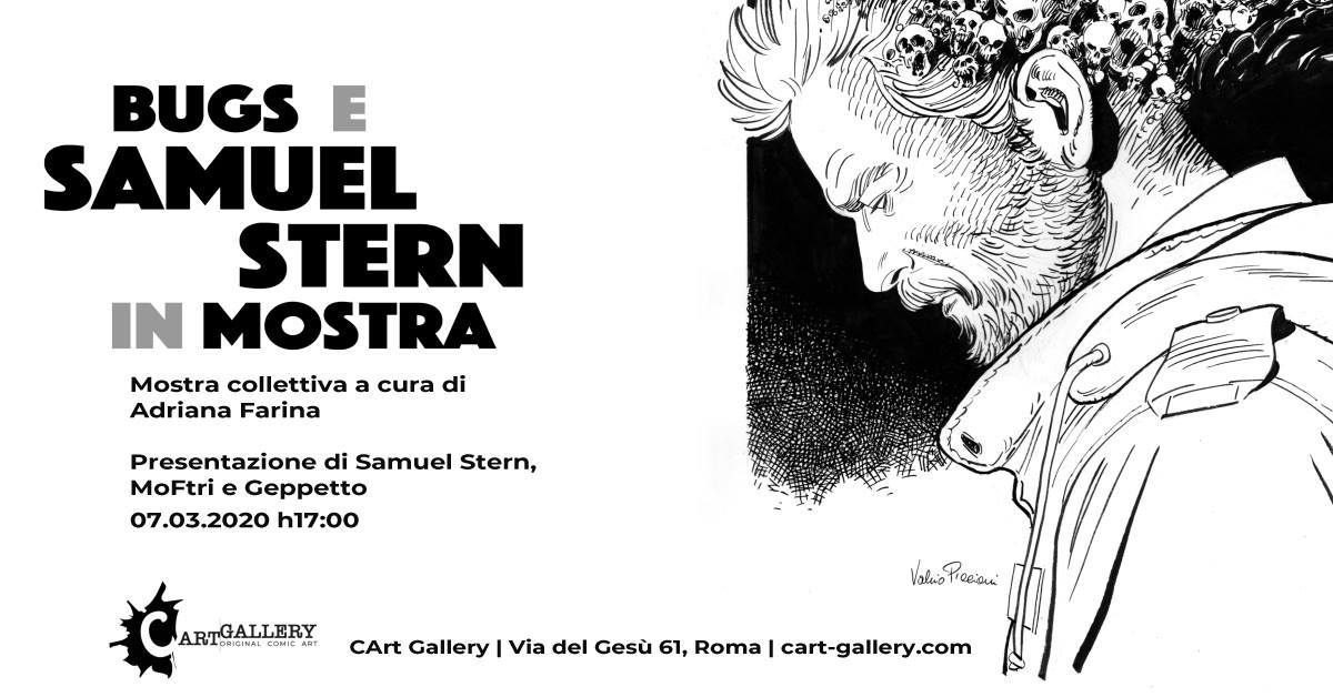 Samuel Stern in mostra a Roma