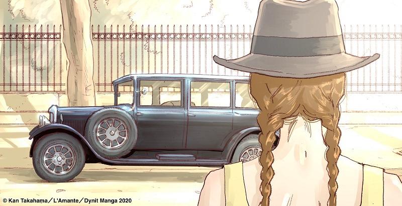 """""""L'amante"""" di Duras in versione manga"""
