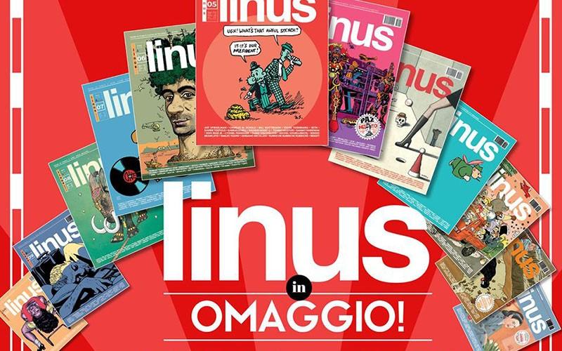 12 numeri di Linus gratis on line