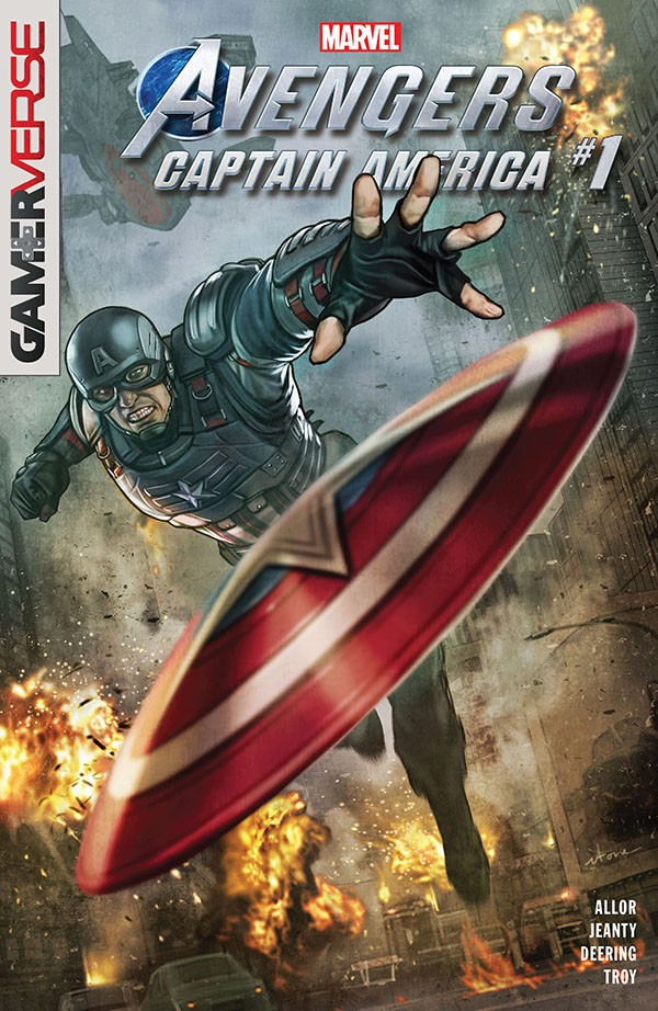 Marvel s Avengers - Captain America 1