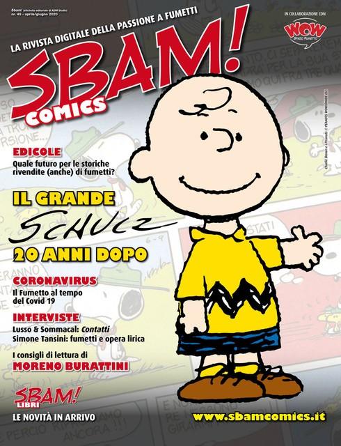 E' uscito il # 49 di SBAM! Comics