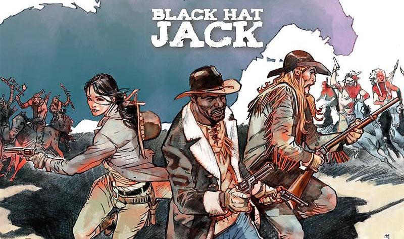 """SBE porta in libreria """"Deadwood Dick. BlackHat Jack"""""""