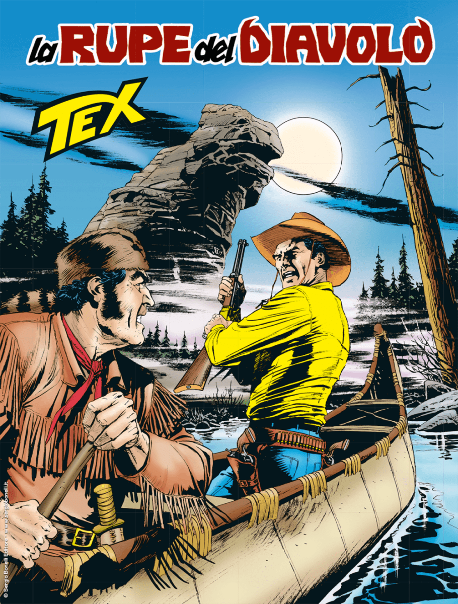 Tex #714 – La Rupe del Diavolo (Nizzi, Mastantuono)