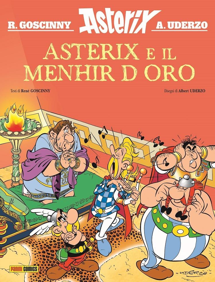 ASTERIX E IL MENHIR D'ORO: un inedito di René Goscinny e Albert Uderzo mai pubblicato
