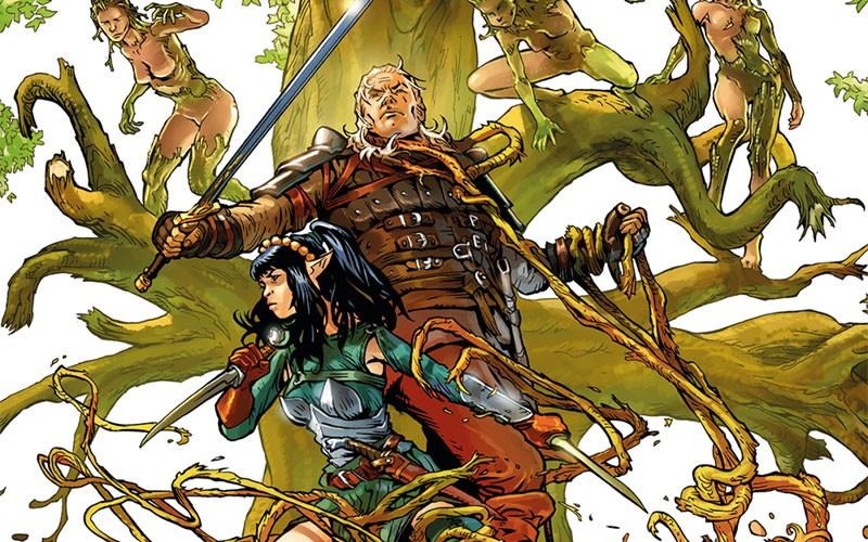 Dragonero il Ribelle #6: storia di un'elfa botanica