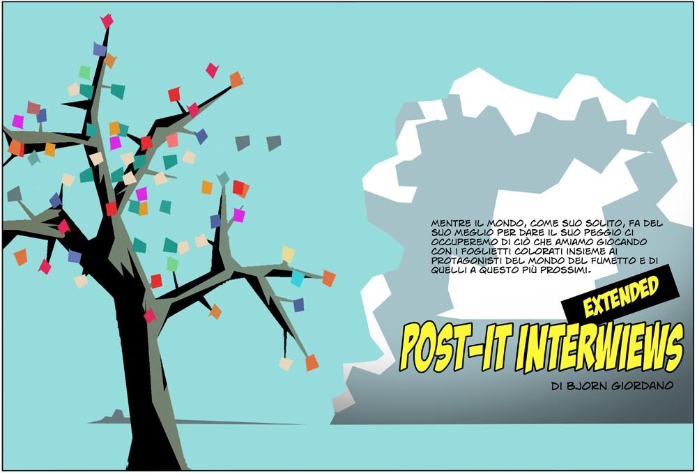 Post-it interviews extended: Francesco Dossena