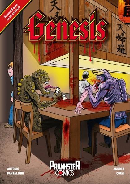 Genesis: Il primo manga Prankster Comics