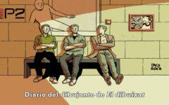 Copertina Diario del dibujante Paco Roca