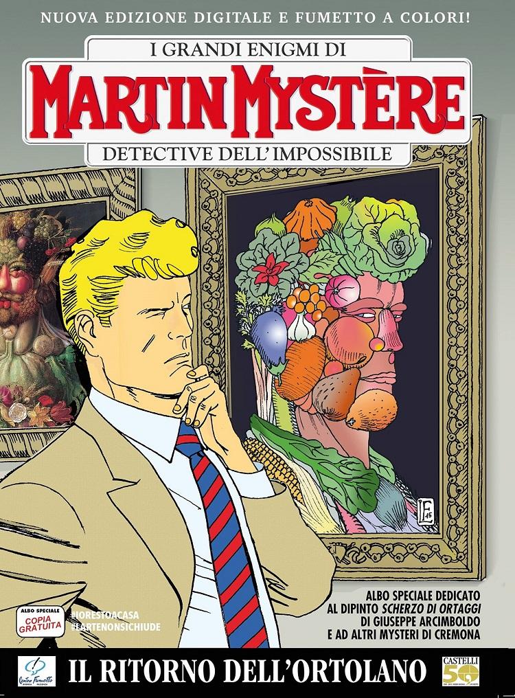 """Martin Mystère """"Il ritorno dell'Ortolano"""" disponibile gratis"""