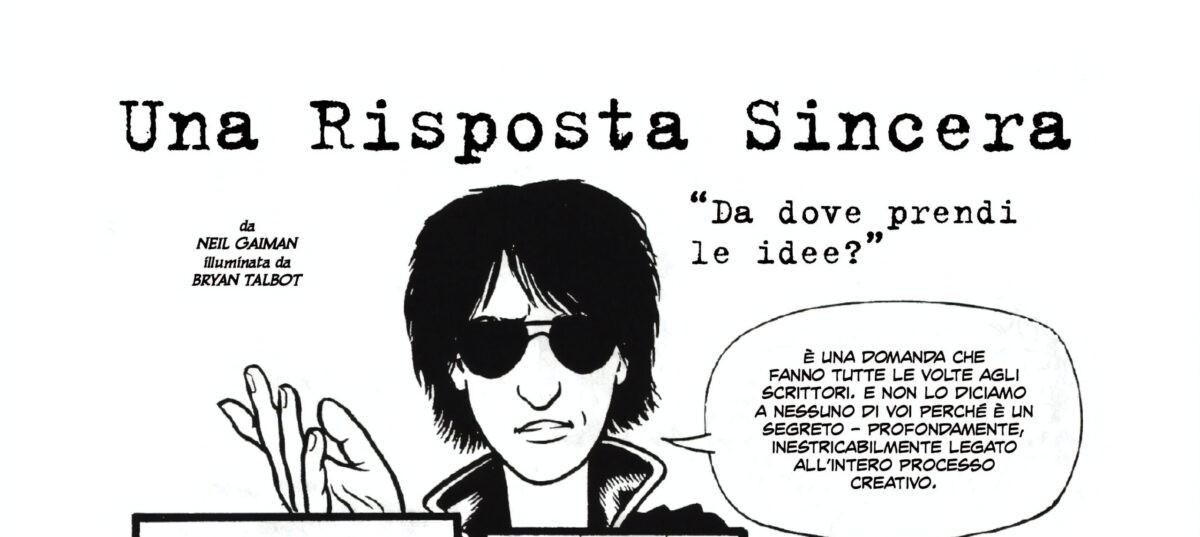 "DOUbLe SHOt annuncia ""Neil Gaiman: Le storie perdute"" per beneficenza"