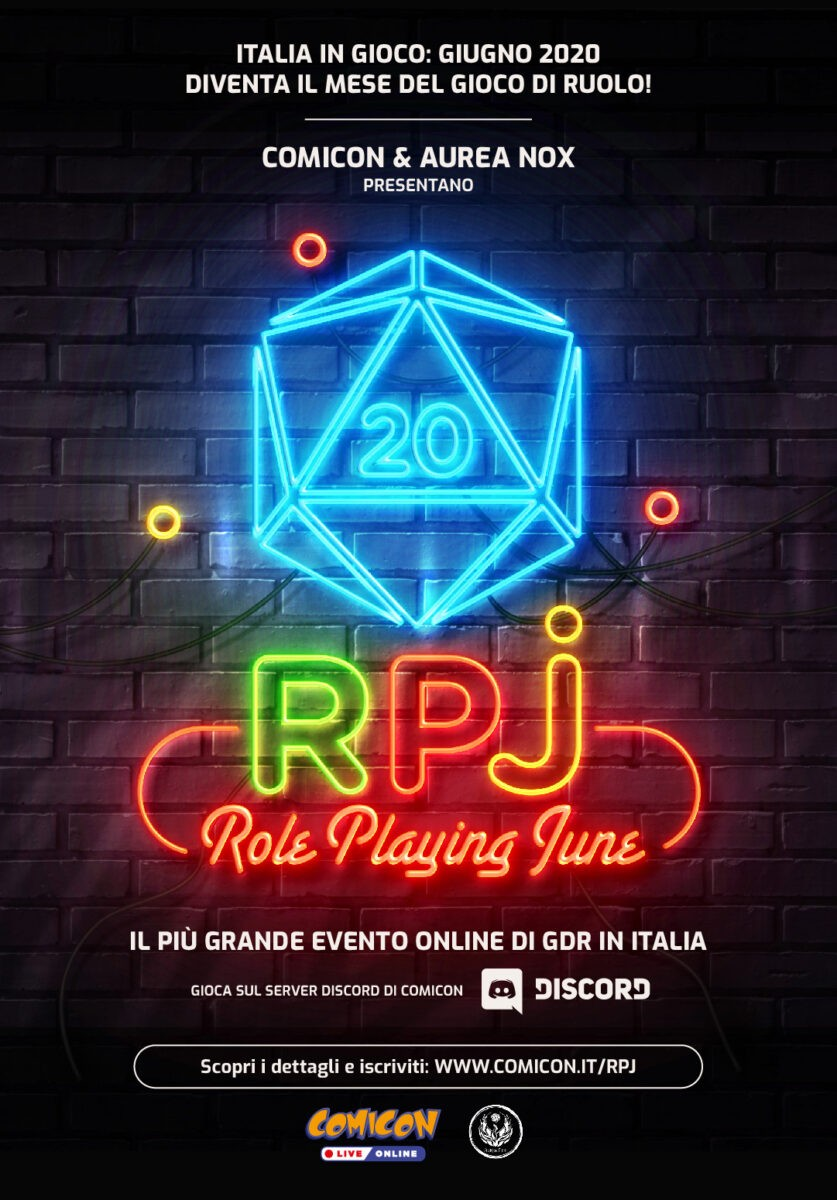 Comicon RPJ poster verticale
