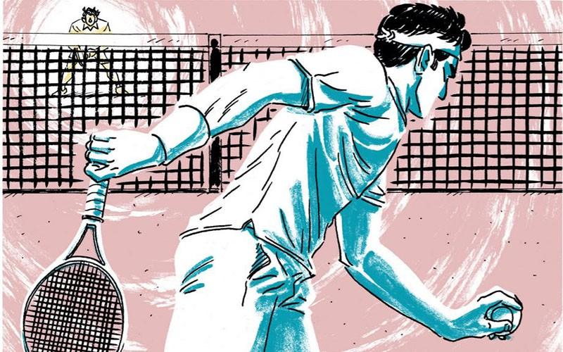 GOAT: il più grande tennista di sempre. Nel fumetto
