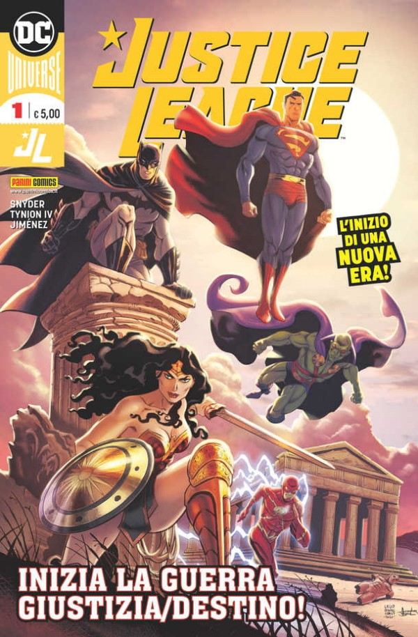 Justice League_Bonaccorso_Cover