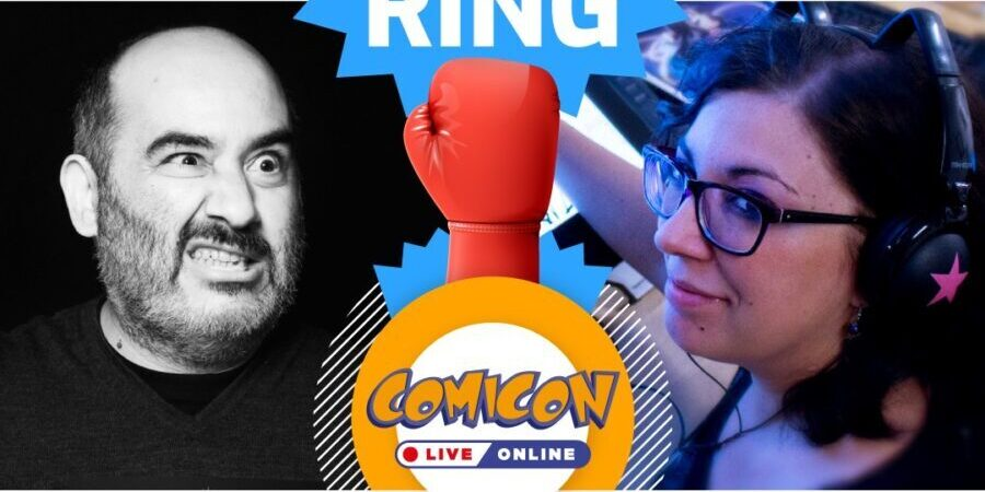 COMICON Ring: Mirka Andolfo vs Giuseppe Palumbo