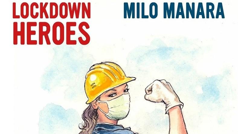Partito il pre order per Lockdown Heroes di Milo Manara