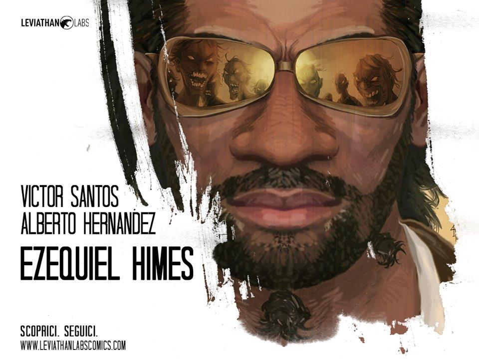 Leviathan Labs pubblica Ezequiel Himes: Cacciatore di Zombie