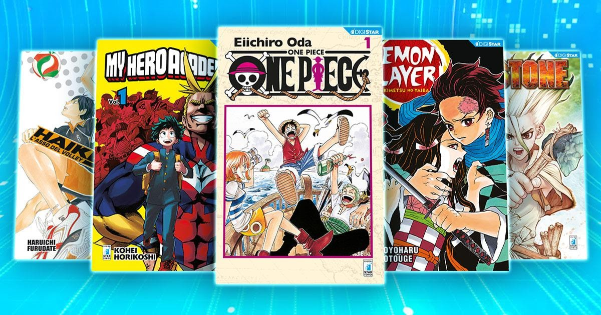 Star Comics: nuove serie manga in digitale