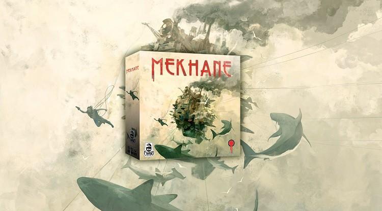 Mekhane: il board game illustrato da Progetto Stigma