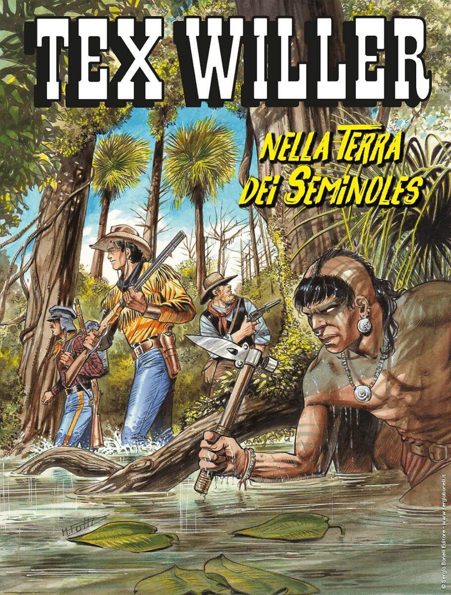 Tex Willer #20 – Nella terra dei Seminoles (Boselli, Rubini)