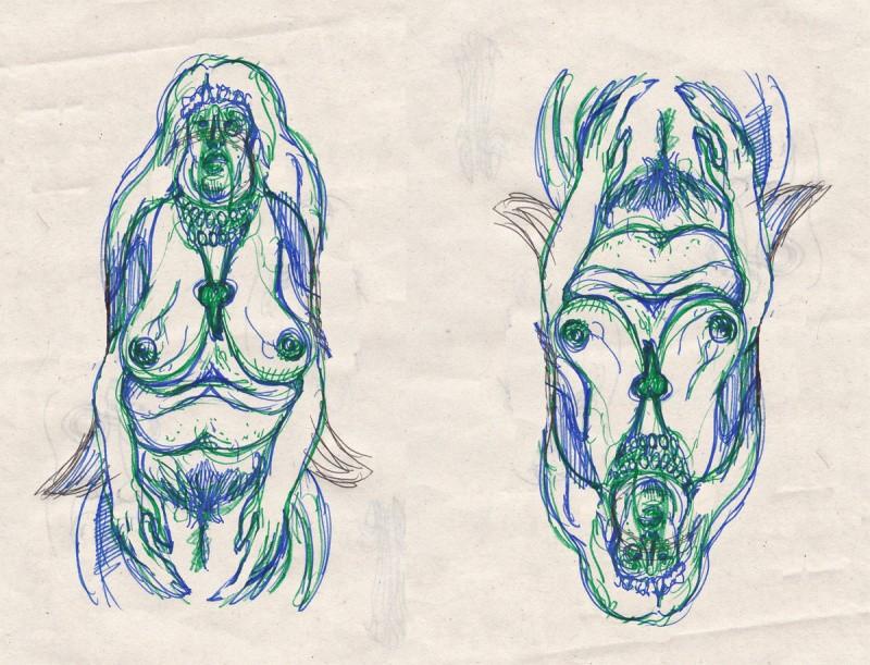 Bruno Nadalin - prove di copertina per Capek 2 scuro - 3