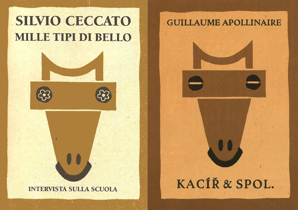 Due copertine a confronto - Millelire e Josef Capek 5