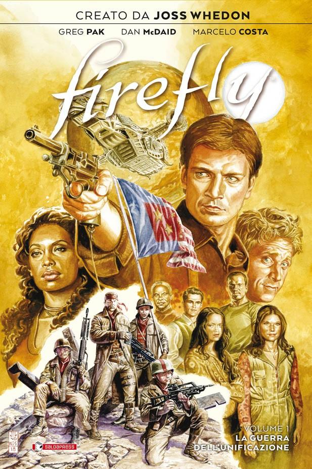 In arrivo Firefly Vol. 1 – La Guerra dell'Unificazione