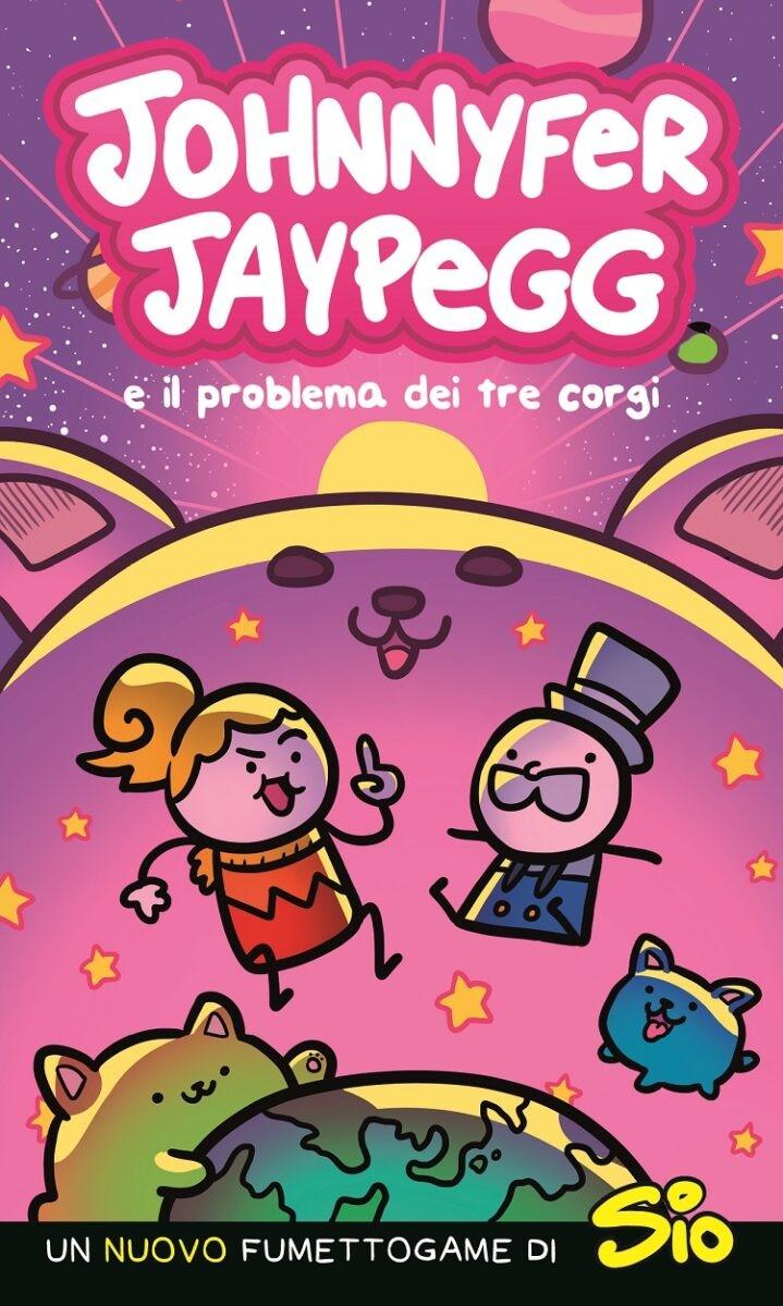 E' uscito Johnnyfer Jaypegg e il problema dei tre corgi di Sio