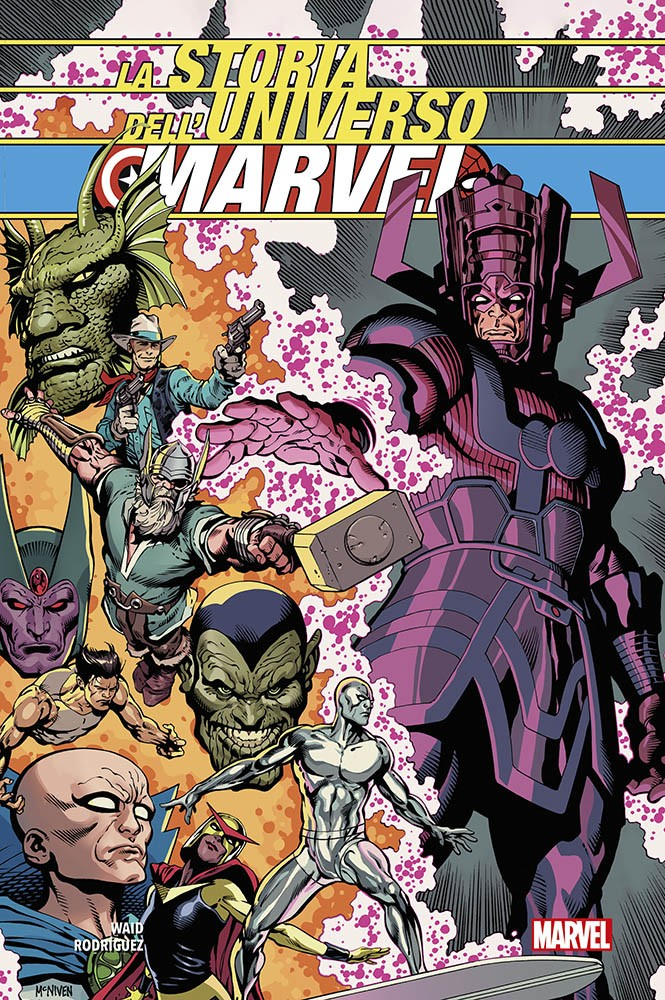 Storia dell'Universo Marvel_Cover