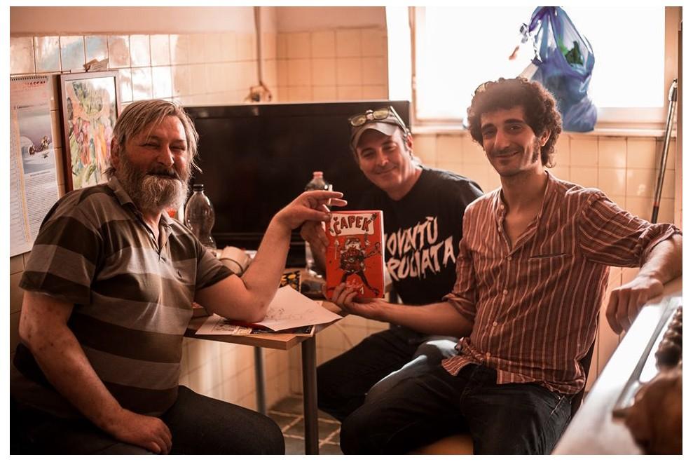 Trash, Simone Lucciola e Hurricane stringono l'accordo per Capek 2 - foto di Costanza Fraia