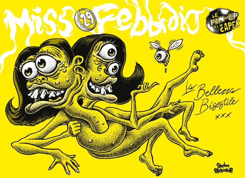Una anteprima da Capek 2 - numero scuro - illustrazione di Stephen Blickenstaff