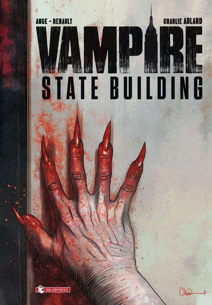 Esce domani Vampire State Building di Adlard