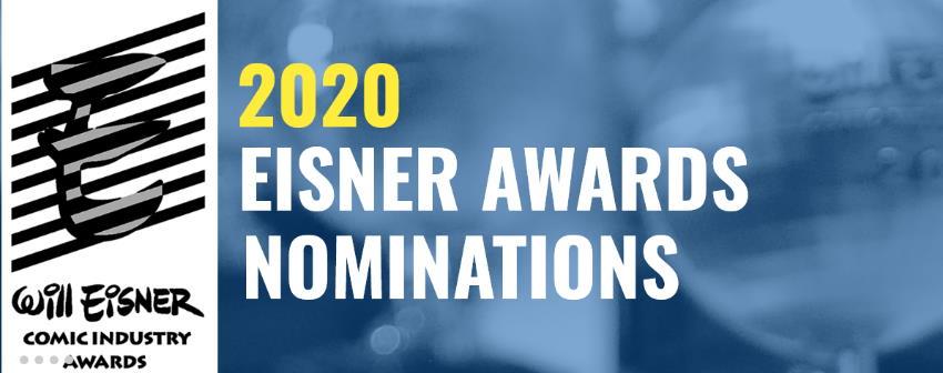 Le candidature per gli Eisner Award 2020