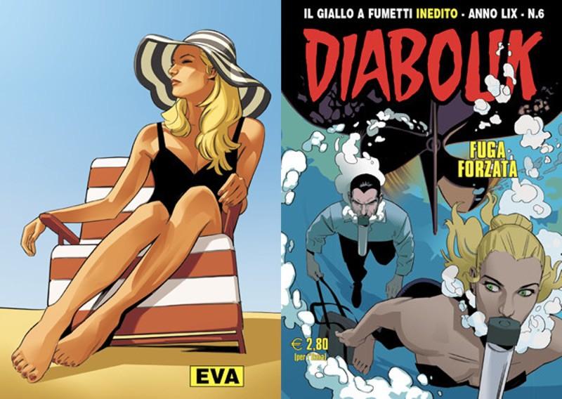 Diabolik Anno LIX #6 – Fuga Forzata (Altariva, Nunziati, Brandi)
