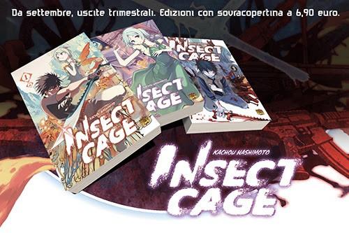 Mangasenpai porta in Italia il manga Insect Cage