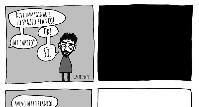 """Claudio Marinaccio immagina """"Lo Spazio Bianco"""""""