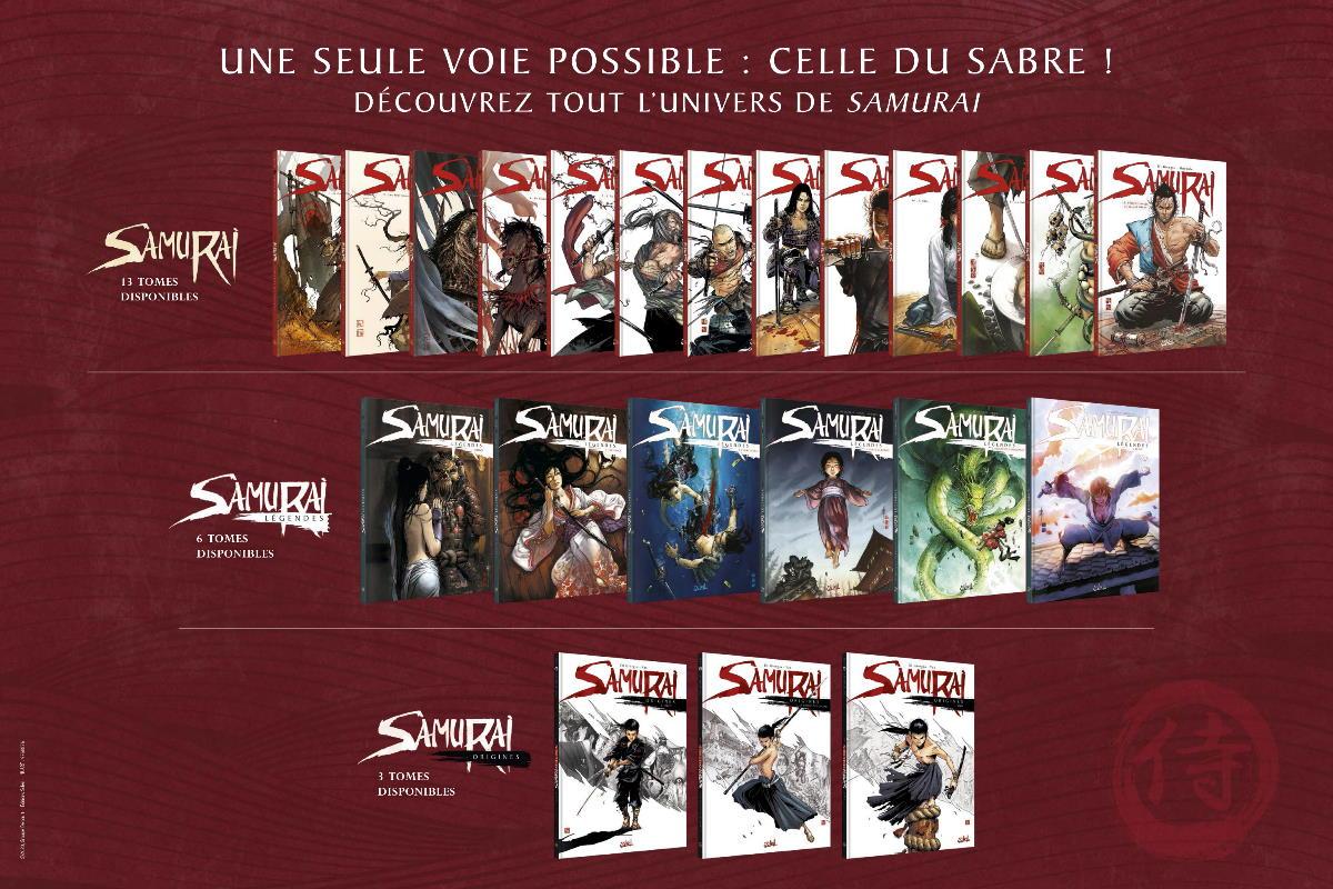 affiches pubblicitarie universo Samurai (1)
