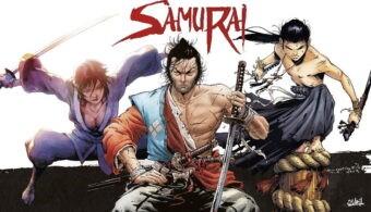 affiches pubblicitarie universo Samurai (2)
