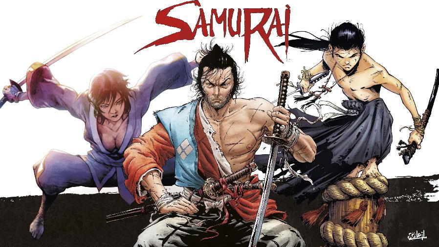 Due samurai del fumetto: Cristina Mormile e Jean-François Di Giorgio