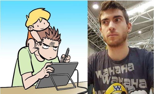 """Dalla carta, al web, alla carta: Davide """"Dado"""" Caporali"""