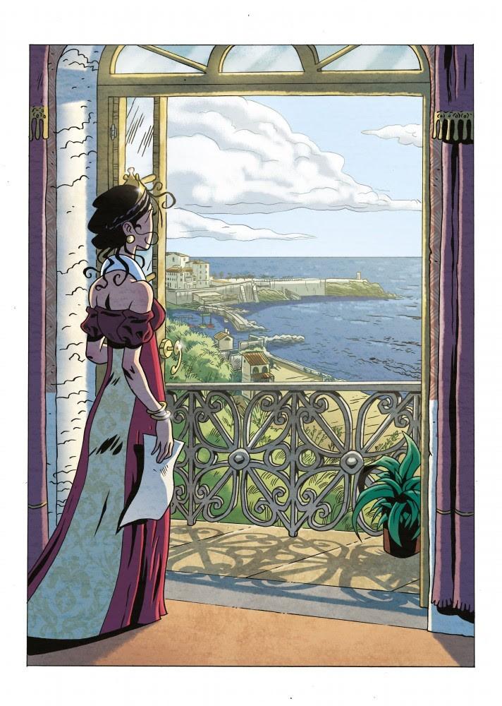 """In arrivo la graphic novel """"La dama degli abissi – La storia segreta di Elisa Bonaparte"""""""