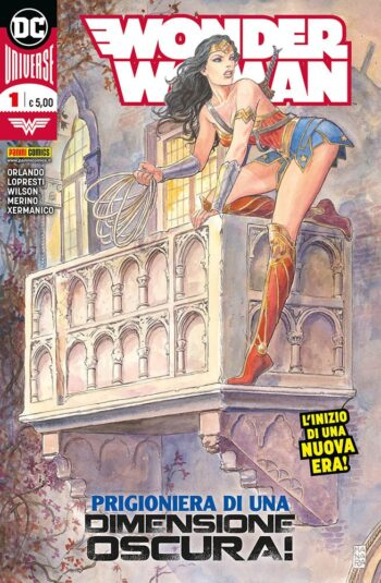 wonder woman 1 cover