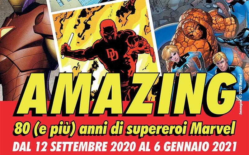 Gli 80 anni della Marvel al WOW di Milano