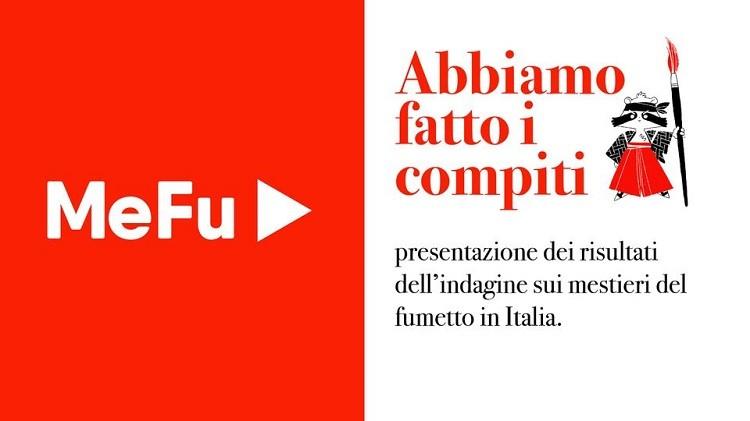 MeFu: i risultati dell'indagine sullo stato economico e professionale dei creatori di fumetto in Italia